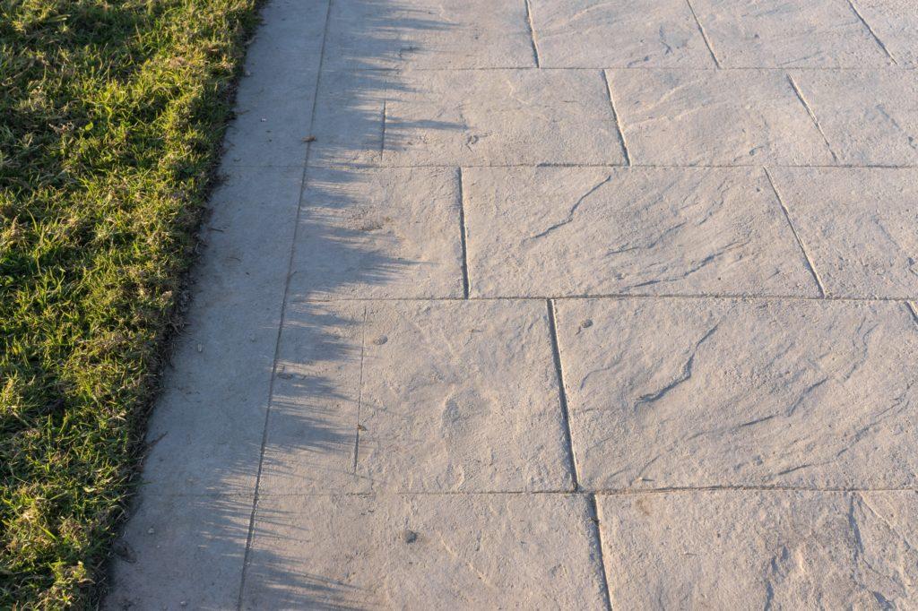 Stamped Concrete Stone Pattern